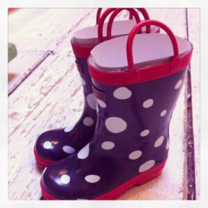 Possibly the cutest rain boots ever....