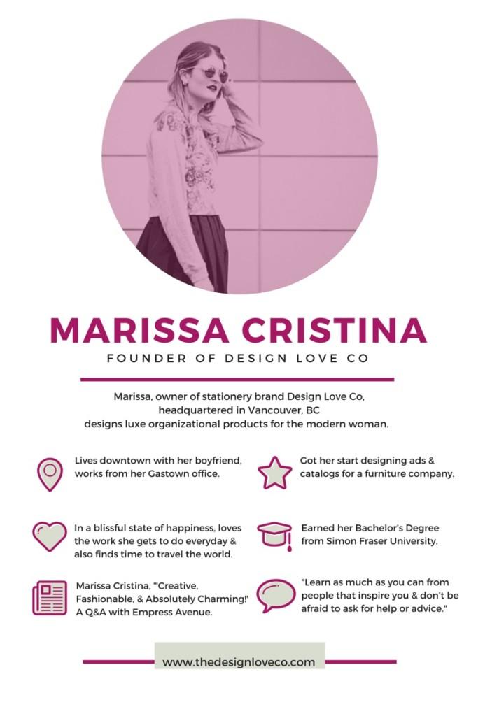 Marissa Cristina - Empress Avenue Interview