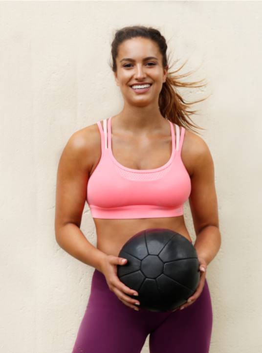 Lift And Strengthen Sports Bra_ lorna jane canada_ pink pearl pr