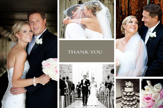 I Do With You, Custom Photo Thank You Cards